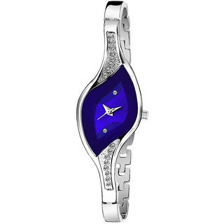 Katrodiya Blue Dile Brand Stylist Looking Analog Professional Watch For Women
