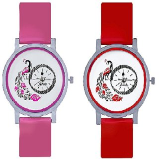 True Choice Pink More Watch And Red More Watch For Glis