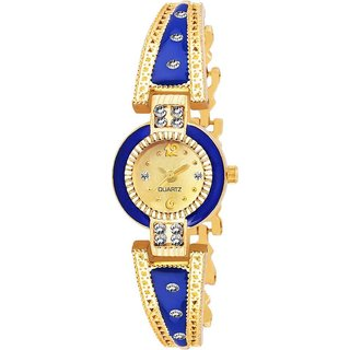 True Colors Blue Rajvadi Women Analog Watch For Girls Watch
