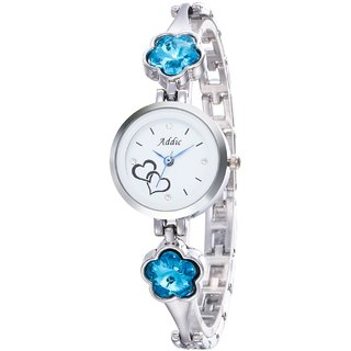 Addic Mermaid-Blossoms Silver Girls  Women's Watch