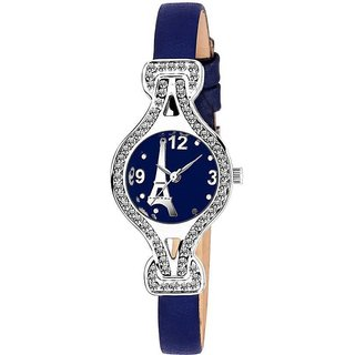 True Colors EIFFEL TOWER Blue DIAL DESIGN FANCY AND ATTRACTIVE WATCH FOR WOMEN Watch - For Women