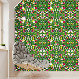 Jaamso Royals  Modern Brick Wall 3D Wall Poster, Wallpaper, Wall Sticker Home Decor Stickers for bedrooms, Living Room, Hall, Kids Room, Play Room (Size  200 X 45 CM i.e. 9 Sq Ft)