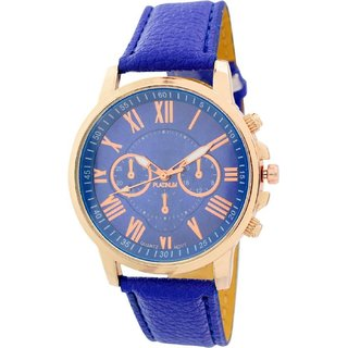 KDS Wedding Collection Blue Chronograph Look Blue Strap Best Deal Fast Selling Woman Watch