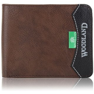 4c37e3436ff1 Buy Fashion Clubs Brown Pure Leather Tri-fold Wallet for Men Online ...