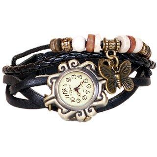 Fighter Black Strap Watch