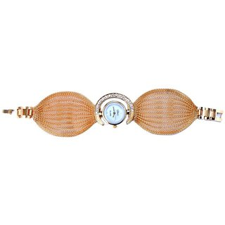 Glory Other Dial Gold Metal Strap Watch for Women
