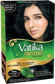 Vatika Henna Natural Black Hair Color