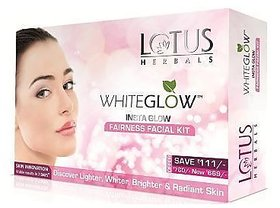 Lotus Herbals Whiteglow Insta Glow Fairness Facial kit- 160g