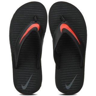 buy online c2820 6011a Nike Chroma Thong 5 Black Thong Flip Flop