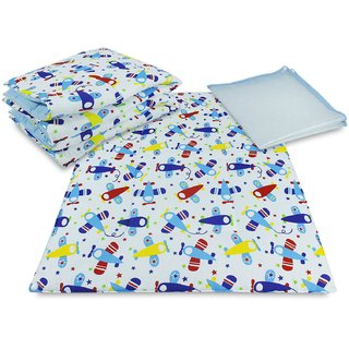 Tumble 3 in 1 Printed Changing Mat - Blue