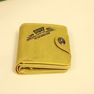 Bovis Wallet Men Yellow