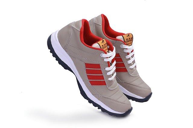 Cream Men's Running Shoes