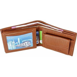 Artificial Leather Wallet  (10 Card Slots) (Synthetic leather/Rexine)