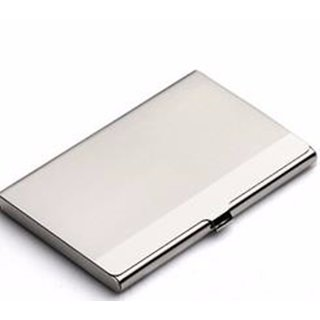 Silver Metallic Card Holder by Unique Collections