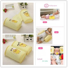 Toys Factory Baby Pillows Anti Roll Pillow Sleep Head Positioner Anti-Rollover Infant Newborn Bedding Supplies