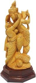 Lord Krishna Rasleela wooden idol