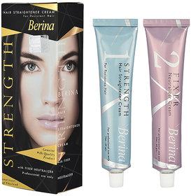 Berina Hair Straightening Cream - 120ml (Pack Of 2)