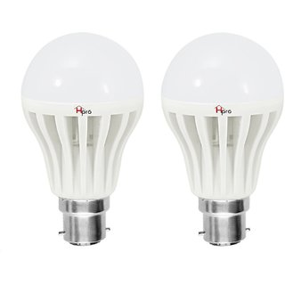 Homepro 12W Pack of 2 B22 Natural White LED Bulbs
