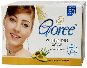 Goree Whitening Soap with Lycopene 100 Original (100 g) pack of 1