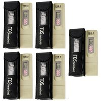 Digital TDS Meter TDS-3/Temp/Hold PPM Testing Machine Water Filter Purity Tester Portable PACK OF 5 PC ,ROspare.com