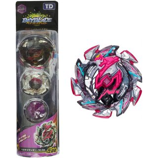 Gyro Battling Top Beyblade Burst B-113 Hell Salamander.12.OP Balance Booster Spinning Toy Set with Launcher
