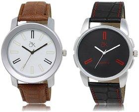 ADK Analog  White&Black Dial Wrist watch For  Men-AD-02-03