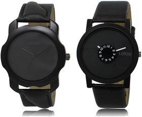 LOREM Analog  Black Dial Wrist watch For  Men-LK-22-25