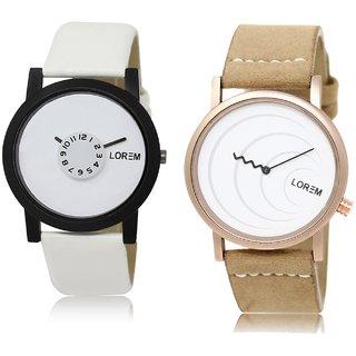 LOREM Analog  White Dial Wrist watch For  Men-LK-26-38