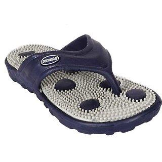 Edee Blue Grey EVA Casual Slippers For Men