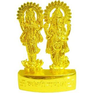 Astro guruji Metal Laxmi Ganesh