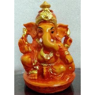 Red Ganesha Idol Raja Ganesh