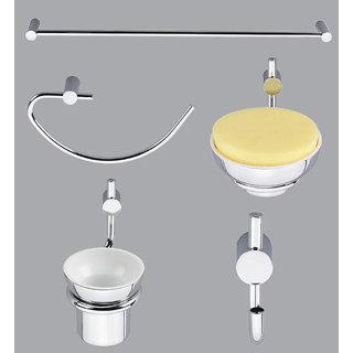 Taptree Eva Series 5 Pcs Bathroom Accessories Combo