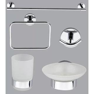 Taptree Nature Series 5 Pcs Bathroom Accessories Combo