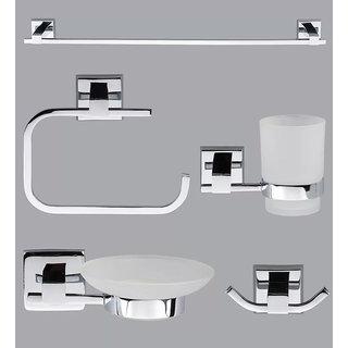Taptree Prestige Series 5 Pcs Bathroom Accessories Combo
