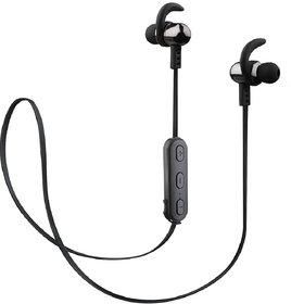 (Renewed) Envent LiveFit 525 ET-BTESM525 in-Ear Sports Wireless Bluetooth Earphones (Grey)