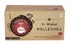 Wisdom Natural Hibiscus Flower Tea - 25 Pcs