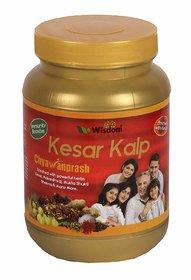 Wisdom Natural Kesar Kalp Chyawanprash with Powerful Herbs 1 kg
