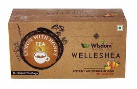 Wisdom Natural Lemon with Honey Green Tea - 25 Pcs