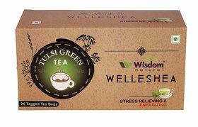 Wisdom Natural Tulsi Green Tea - 25 Pcs