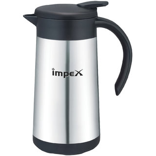 Impex THERMOS-600 Thermosteel Vacuum Flask (600 ml Silver)