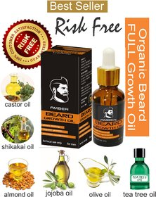 Beard Growth Oil Amber