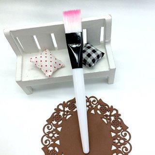 2 pc Facial Mask Applying Brushes Face Eyes Makeup Cosmetic Tool Portable brush (2 Pc)