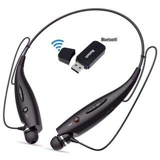 HBS 730 Bluetooth Sports Neckband+usb bluetooth dongle