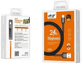 IT S 2.4Amp Pure Copper Data And Charging Cable For Android Devices