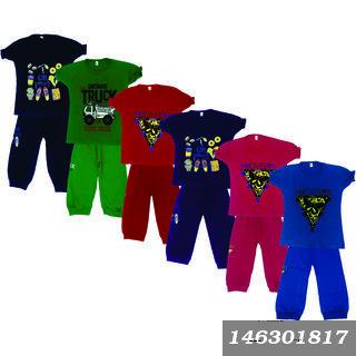 Girls Casual T-Shirt Capri Pack Of 6 (Till 5 Years)