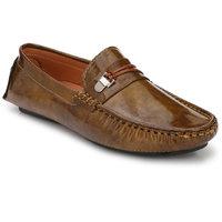 KLEVER KICKS Men's Beige Loafers Synthetic Loafers /Casual Shoes/Shoes for Men's Loafers Loafers /Unique Loafers