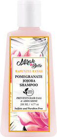Mirah Belle - Pomegranate New Hair Growth Shampoo - 200 ml - Promotes New Hair Growth, Stops Hair Fall