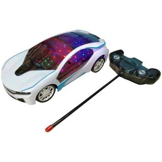 SHRIBOSSJI LED Light Fast Modern Car with Remote Control (Multicolor)