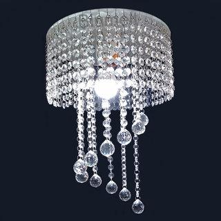 Blumelt Crystal Chandelier Modern Ceiling LED Light, 30 x 45 cm Bedroom, Living Room, Kitchen, Dining Room, Hallway