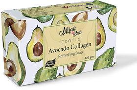 Mirah Belle - Avocado Collagen Anti Aging Soap (125 g) - Organic and Natural - Anti-Aging, Skin Tightening.